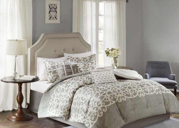 Madison park novella grey piece comforter set overstock com shopping the also
