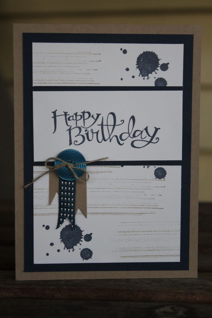 Stampin Up Boy Birthday Cards Yahoo Image Search Results