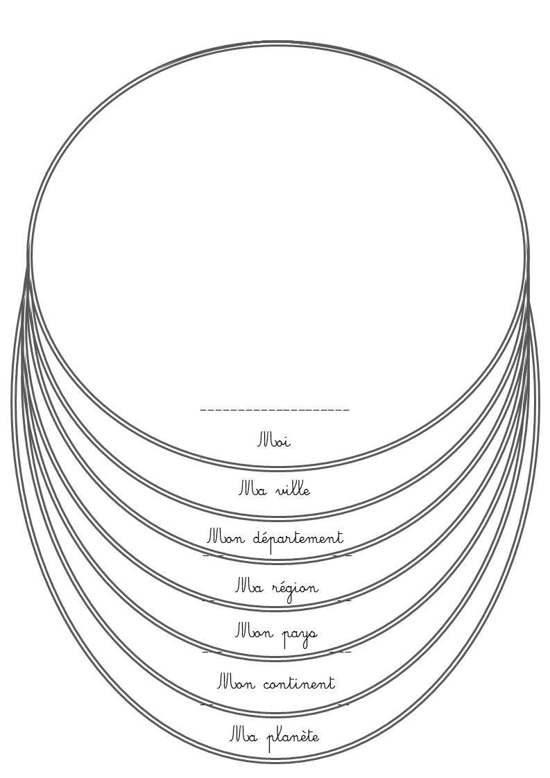 Livret individuel pour structurer l'espace : moi dans le