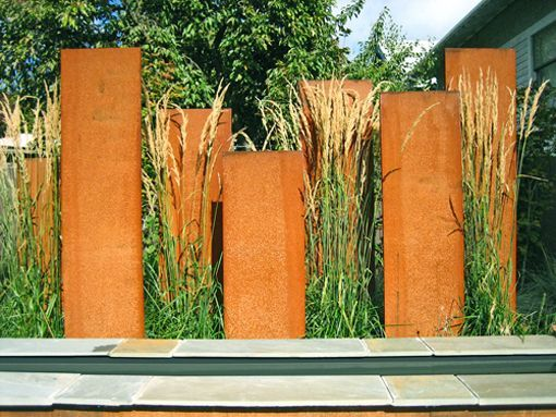 Garden Dividers Corten Garden Screens This Is A Fast And