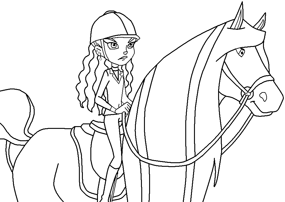 Coloring Pages Horseland - Erieairfair