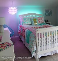 Colorful Tween Bedroom Lighting | Tween, Room and Bedrooms