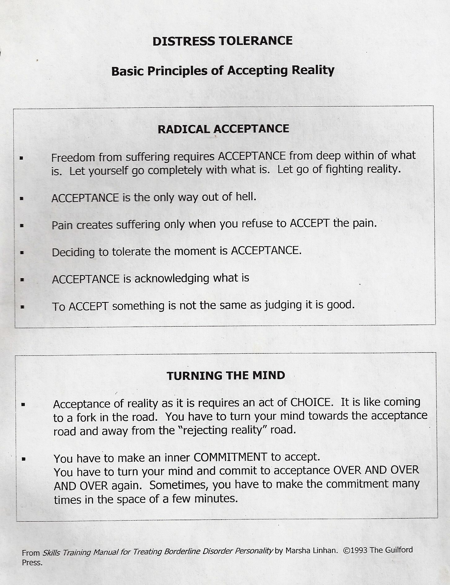 Worksheet Radical Acceptance Worksheet Grass Fedjp