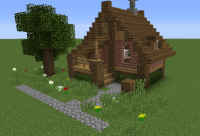 Small House (Blueprints in link) | Minecraft Insparation ...