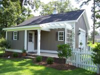 Custom built garden shed/ workshop/ freestanding garage ...