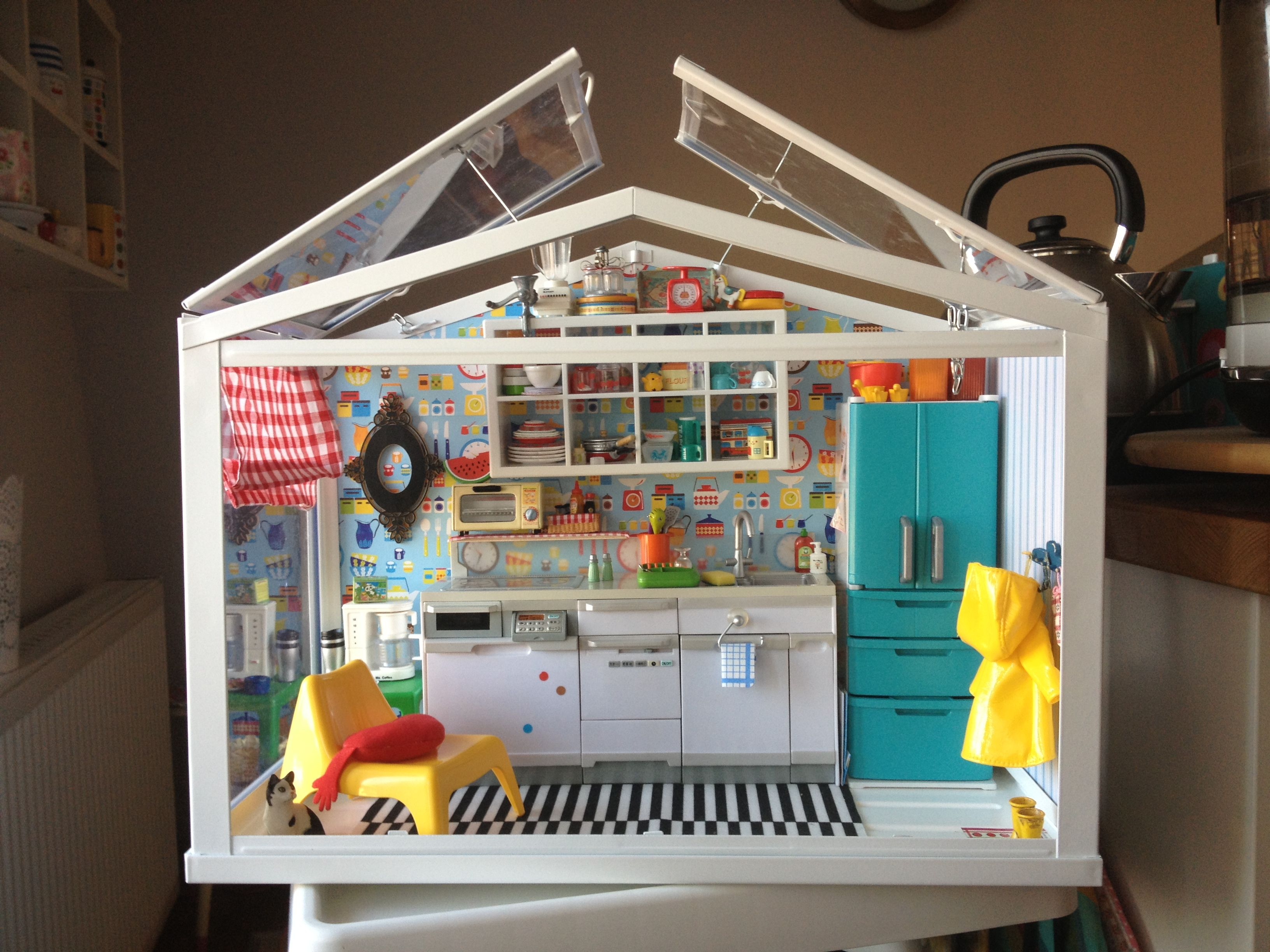 IKEA Socker Greenhouse Into A Dollhouse 20 Ideas For The