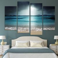 4 Panel Modern Wall Art Home Decoration Painting Canvas ...