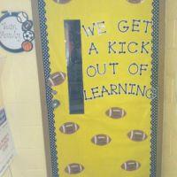 Sports theme- door ideas | school | Pinterest | Doors ...