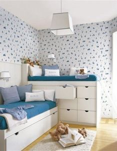 Mommo design shared rooms boys also dormitorio camas literas bedroom bunk beds furniture muebles rh in pinterest
