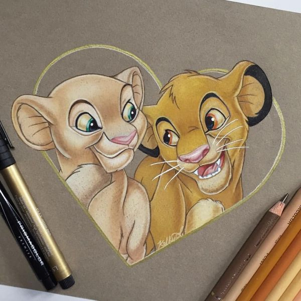Disney Lion King Drawings