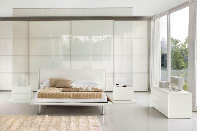 Bedroom Elegance White Furniture With Platform Bed And Desk Set Near Gl Parion