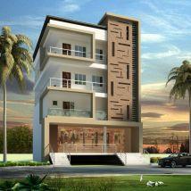 Apartment Elevation Design Architectural