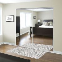 For the entryway ReliaBilt 48-in x 80-in Mirrored Interior ...