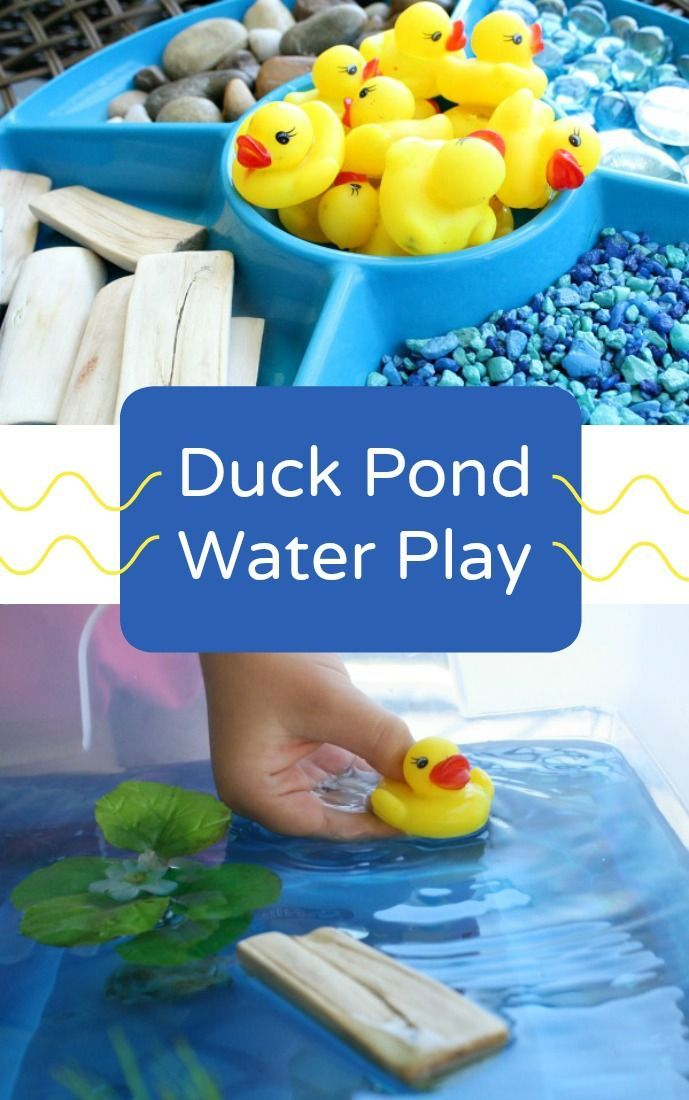 Toddlers Ideas Spring Table Sensory Time