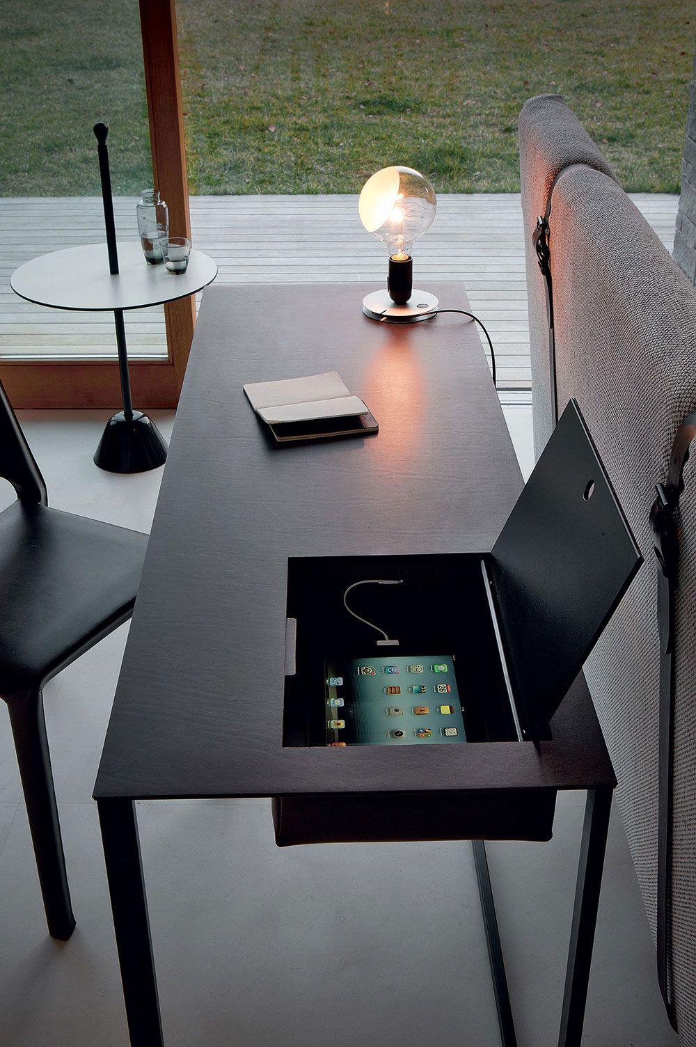 bureau et lampe design http www denisinterieur be