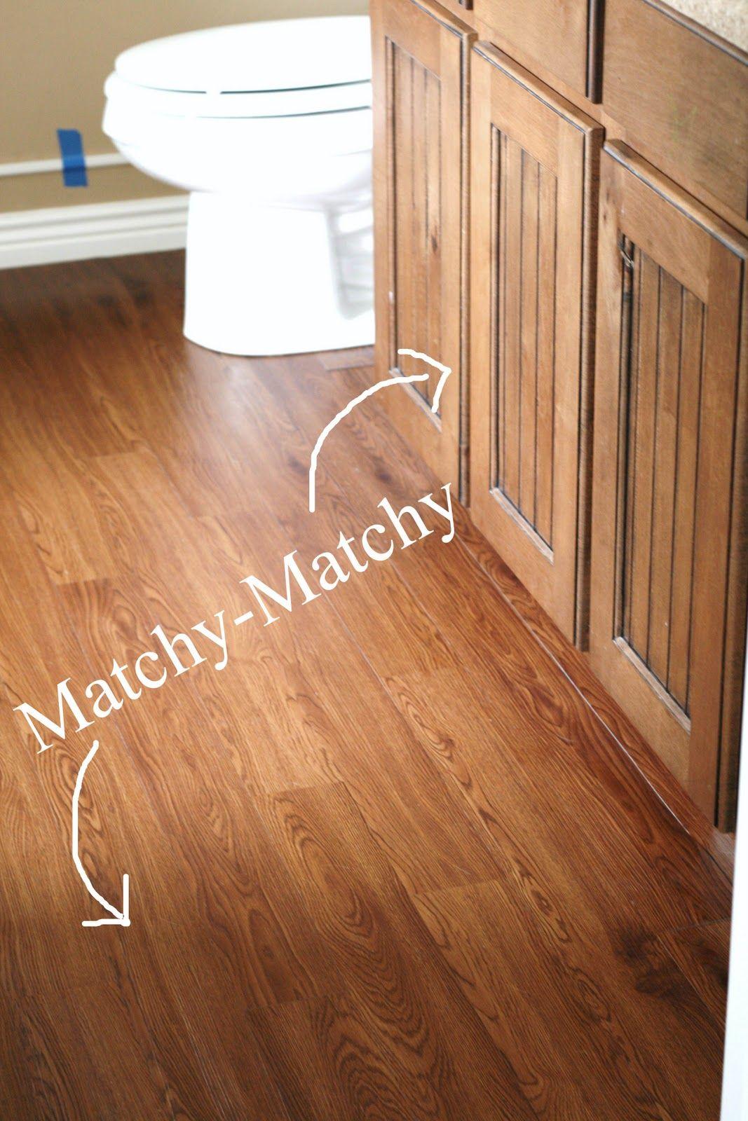 Master Bathroom Peel And Stick Wood Plank Flooring 45