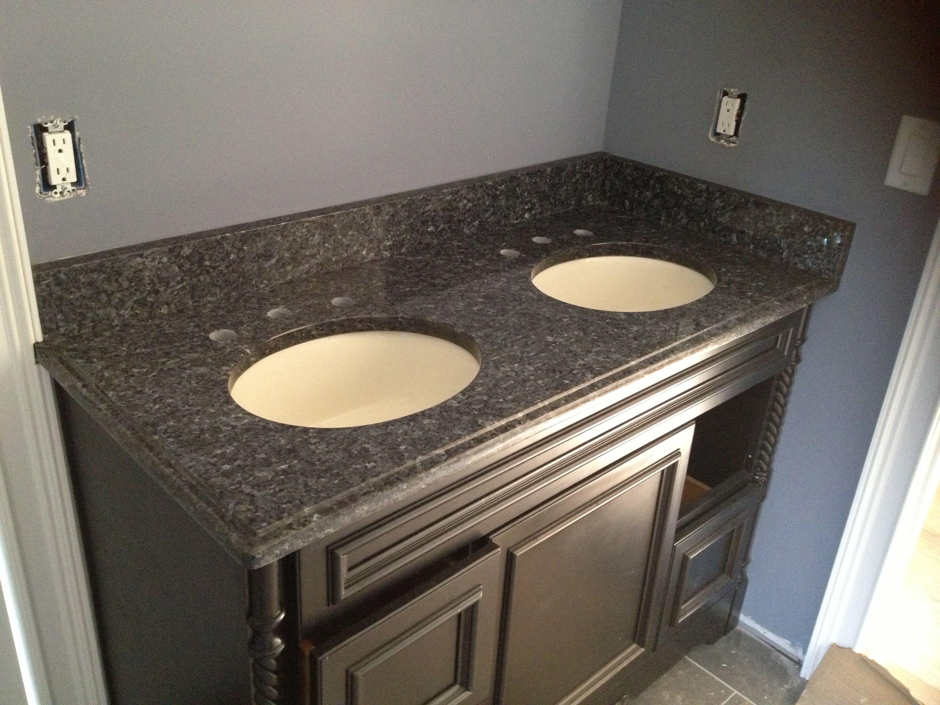 blue pearl granite kitchen hanging light fixtures on pinterest caledonia