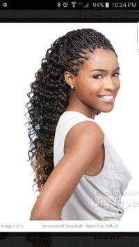 Human hair individual braids | braided life | Pinterest ...