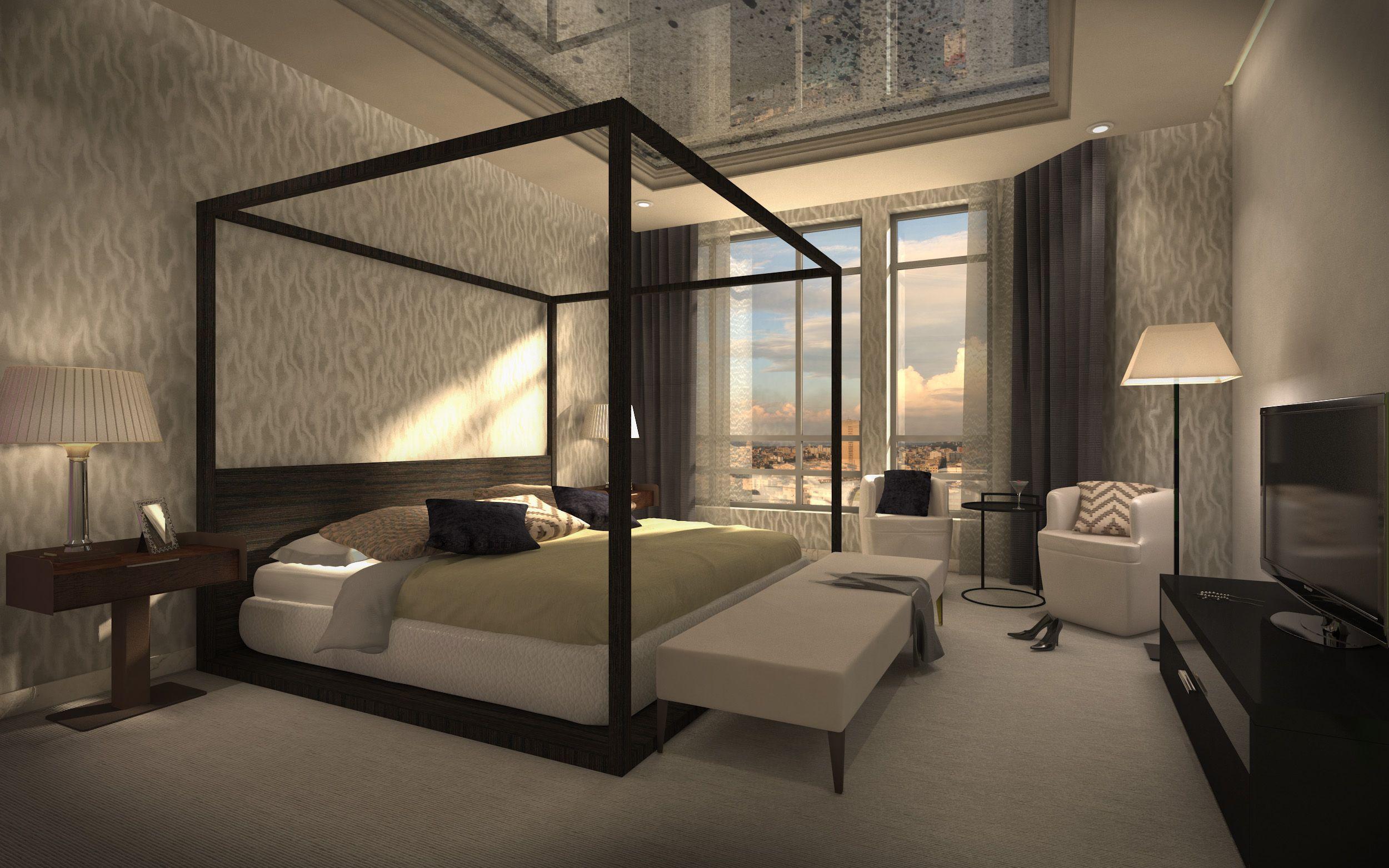Bedroom Visual Luxury Apartments China House Dream