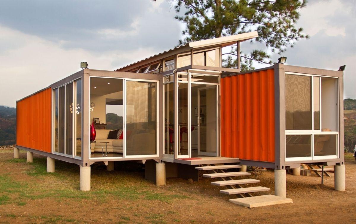 Container Van Homes Illinois