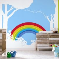 Paint. the. whole. world. with. a. rainbow. Baby room ...