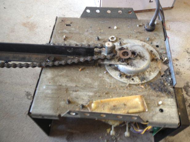 Lubricate Garage Door Opener Gear Regarding Inspire
