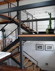 Modern staircase by portal design inc also things    like to make rh pinterest