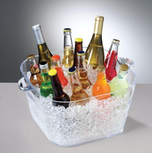 Party Beverage Tub Ice Cooler Beer Chiller Chests Beer
