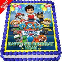 Paw Patrol Edible Cake Image Icing Personalised Birthday ...