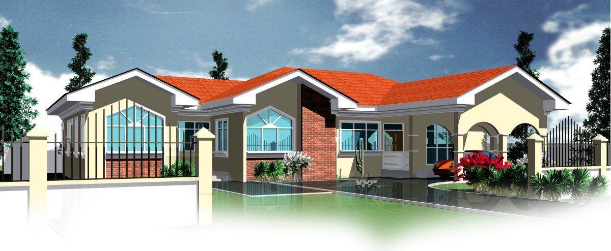 House Plan For Berma African House Plans Ghana Homes Ghana