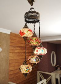 Mosaic Lamps, Turkish Lamp, Moroccan Lamps, Chandeliers