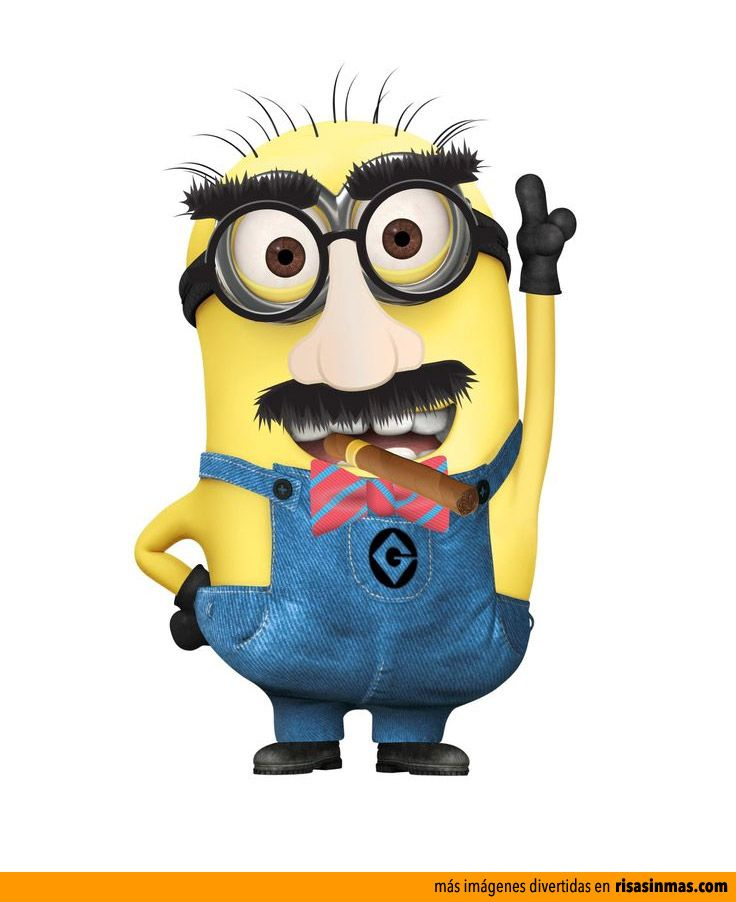 Awesome Quotes Wallpaper Groucho Marx Minion Disfrazado De Groucho Marx Millions Of Minions