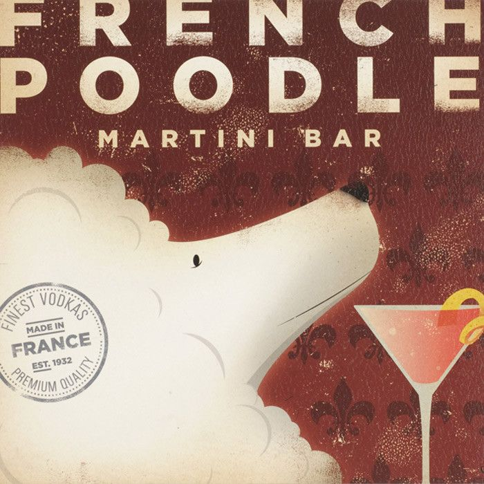 French Poodle Wall Art Things For My Wall Pinterest French ...
