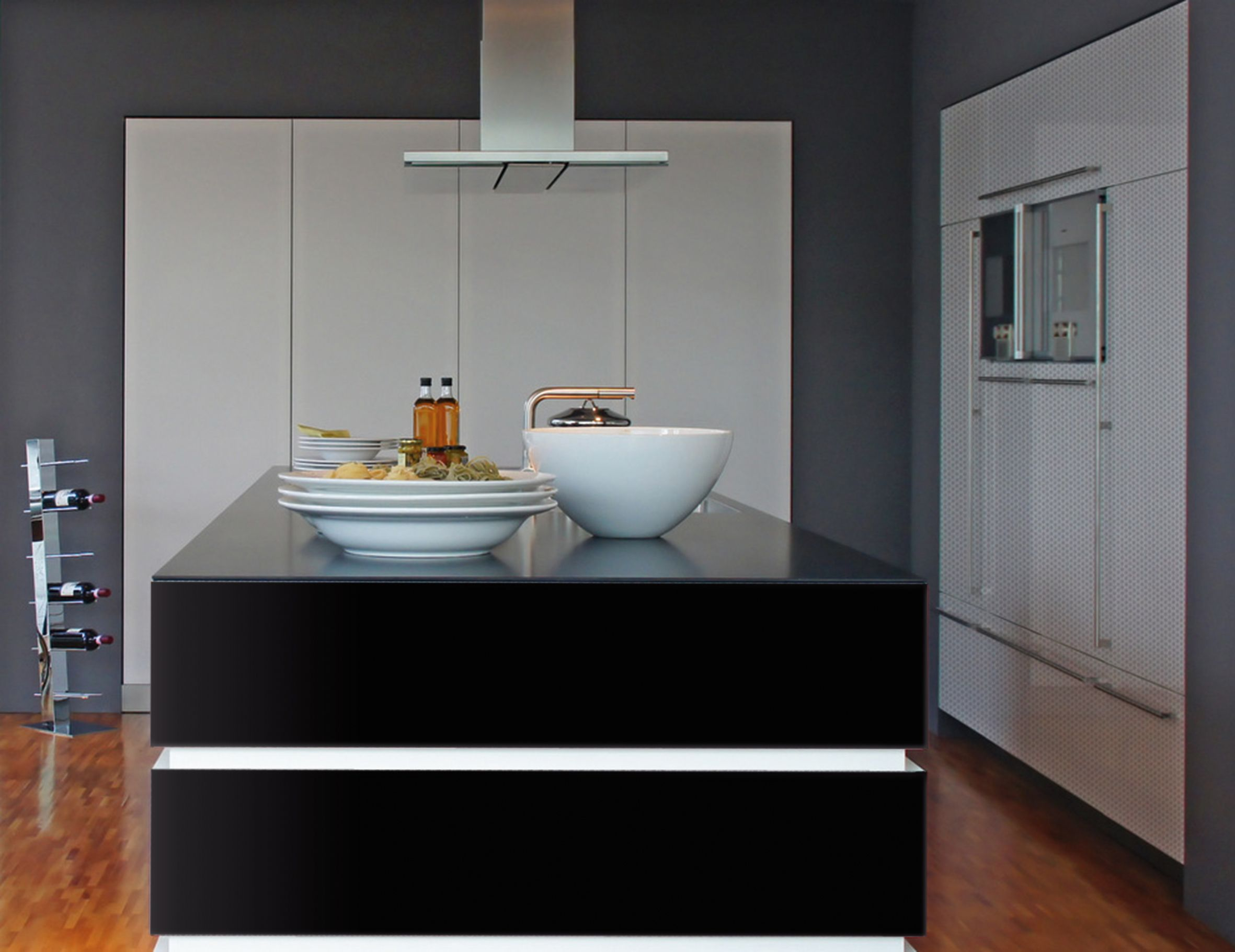 For An Ultra Sleek Modern Look, Dcfix Black Gloss Is
