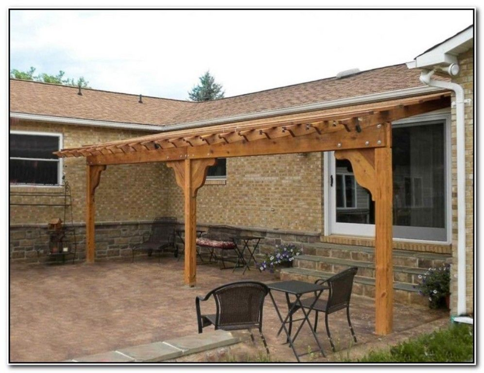 DIY Pergola Attached To House Pagoda Pinterest Http