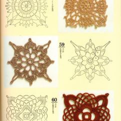 Crochet Square Motif Diagram Pattern Rv Style Trailer Plug Wiring Japanese Motifs With Diagrams