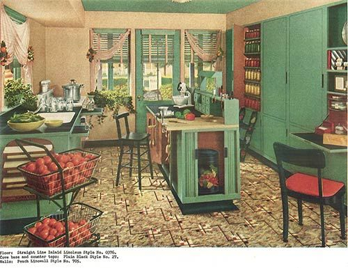1940's Home Decor Home Decor Feature And On