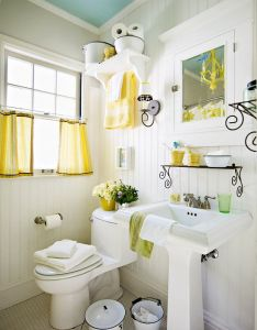 Done in  weekend bathroom refreshes also small decorating rh pinterest