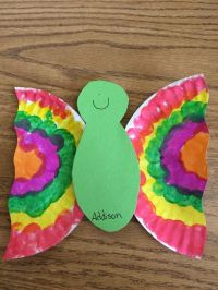 Easy paper plate butterflies | A+ SUPER SCHOOL STUFF for ...