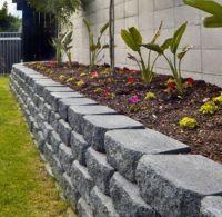 GardenWall2 | Garden edging ideas | Pinterest | Retaining ...