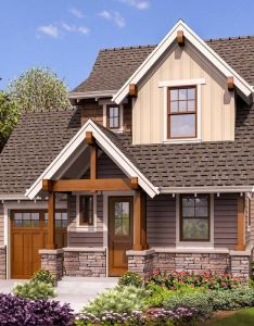 Plan am tiny craftsman house also plans rh pinterest