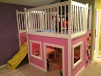 Playhouse Loft Bed | Do It Yourself Home Projects from Ana ...
