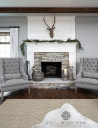 Aledo Project  TV Room @ A Well Dressed Home - shiplap ...