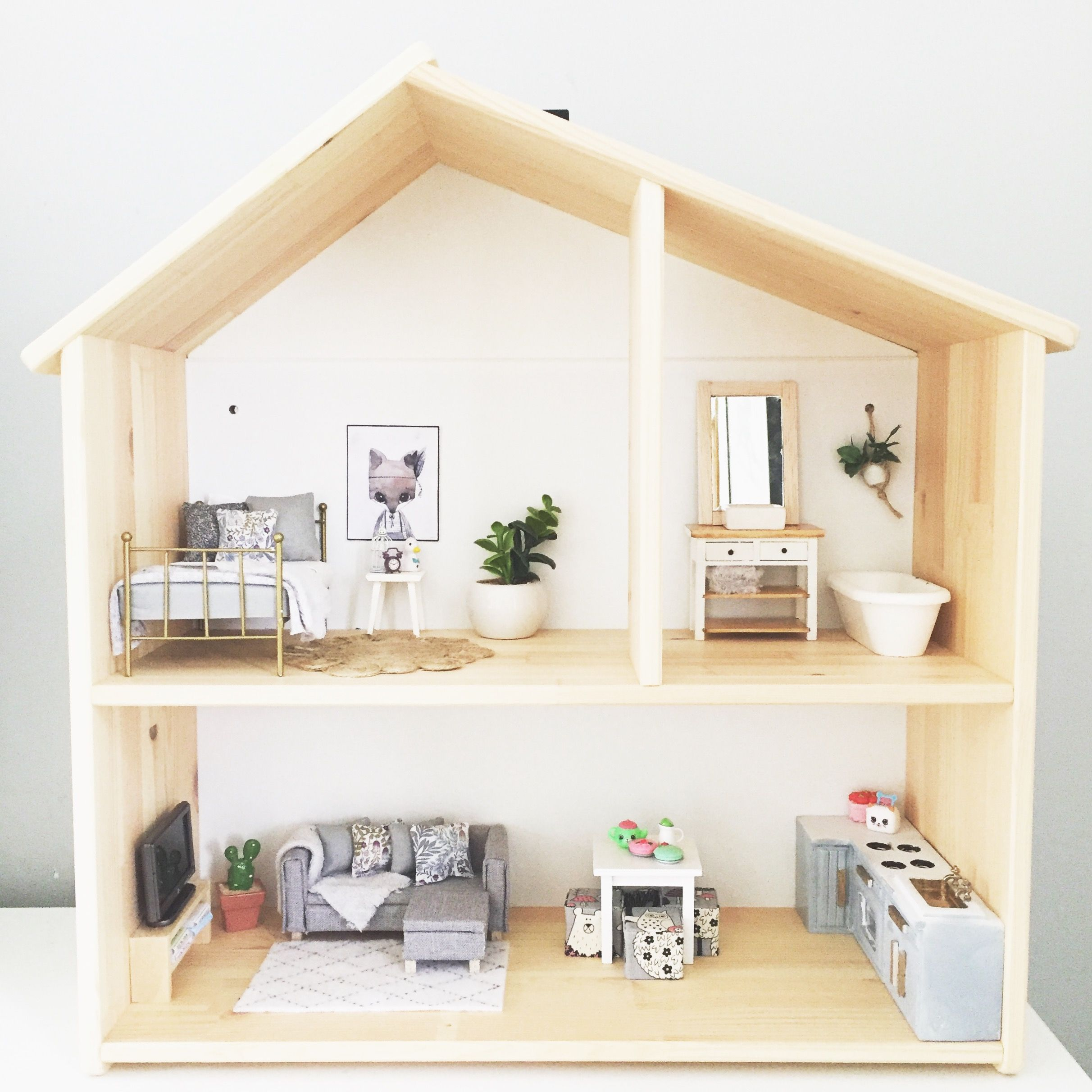 IKEA Flisat Modern Dolls House Renovation In 1 12 Scale Modern