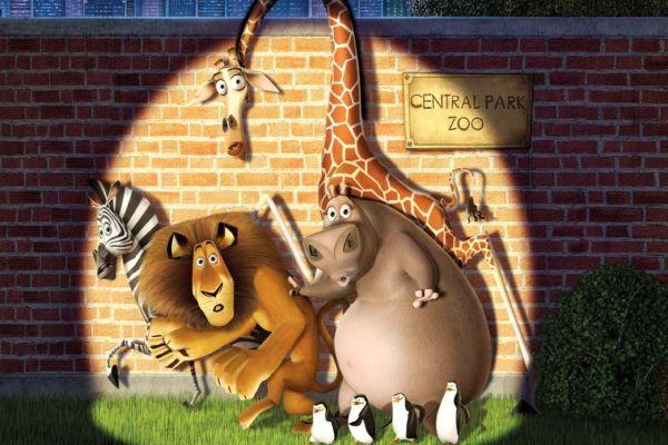 Central Park Zoo Madagascar Movie
