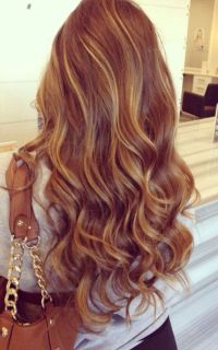 Natural caramel Brown hair color with honey blonde ...