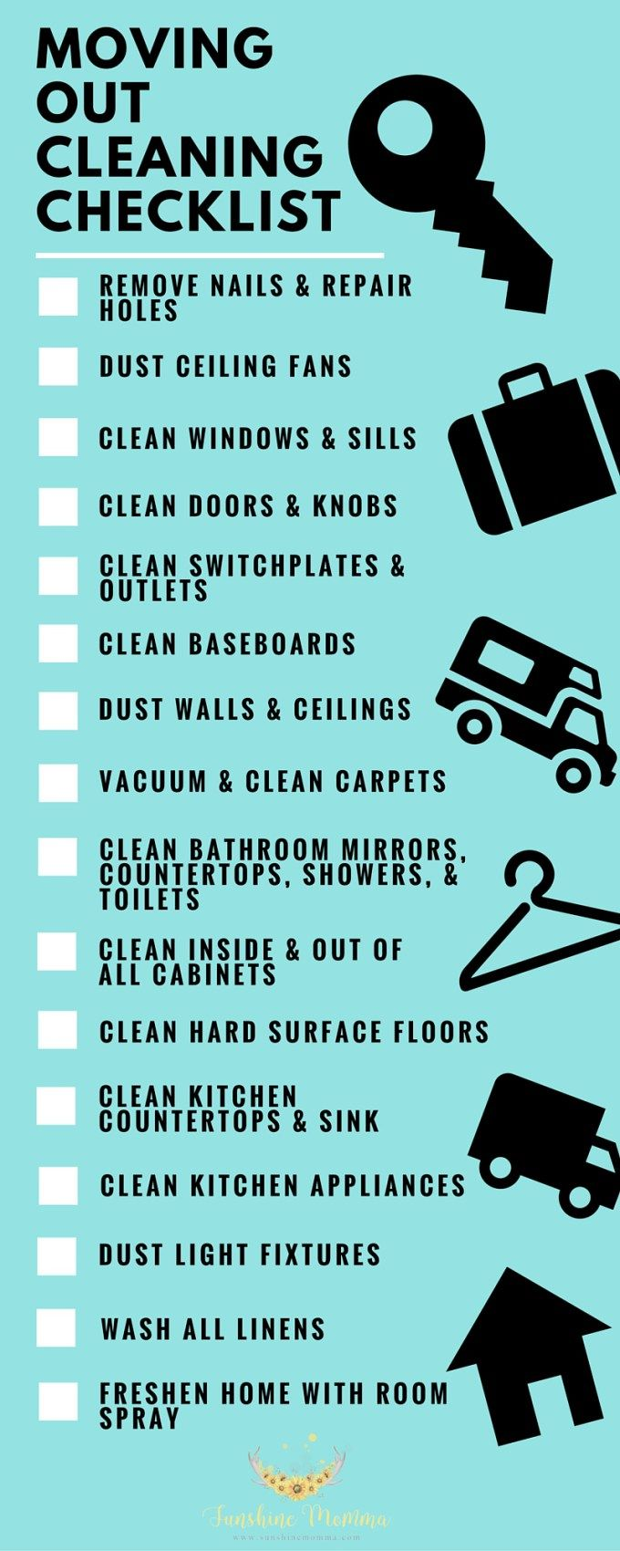 What to clean before moving out of your rent home  Renting