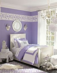 Bedroom , Girl Purple Bedroom Ideas : Teenage Girl Bedroom