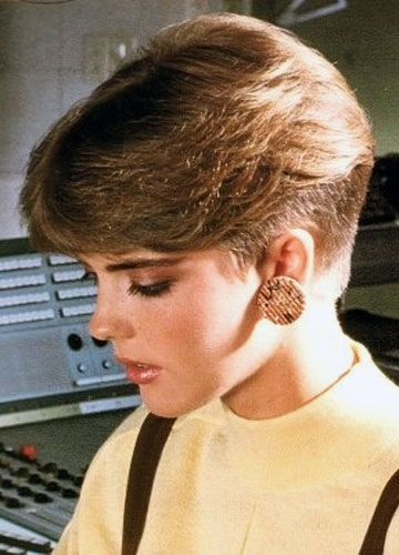 80s Short Hairstyles And Haircuts 1 Memorabelia Of The 50's