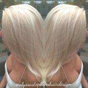 ice blonde bleach and tone platinum